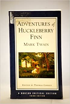 an analysis of huckleberry finn critique The adventures of huckleberry finn is the only one of mark twain's various books which can be called a masterpiece i do not suggest that it is his only book of permanent interest.