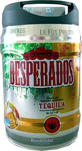 Desperados-cerveza-con-tequila-en-5-litros-barril-incl-Espita