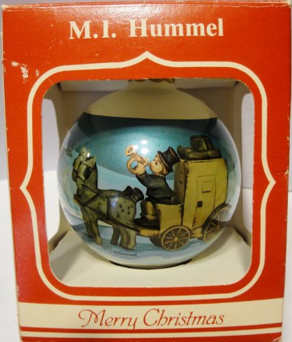 "Vintage Hummel ""The Mail Is Here"" 1987 Christmas Ornament"