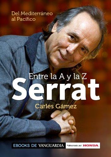 Portada del libro Serrat entre la A y la Z de Carles Gámez