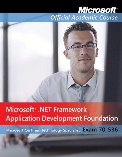 Exam 70-536, Package: Microsoft .NET Framework Application Development Foundation