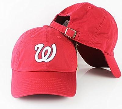 Washington Nationals MLB Ballpark Cotton Twill Adjustable Cap