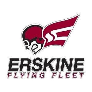Amazon.com : Erskine Medium Decal 'Flying Fleet Head' : Sports Fan