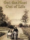 ADVERTISEMENT HARLEY DAVIDSON 1916 MOTORCYCLE BIKE SIDECAR 30X40 CMS FINE ART PRINT ART POSTER BB7277