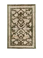 CarpeTrade Alfombra Deluxe Persian Vintage (Verde/Beige)