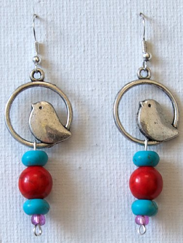 Bird Sterling Silver Earrings for Girls Jewelry Gifts for Women