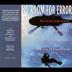 No Room for Error Audiobook