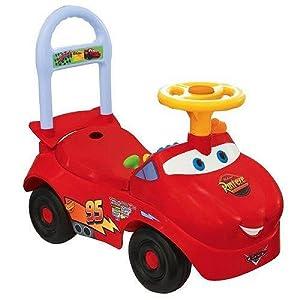 kiddieland toys limited lightning mcqueen activity ride on