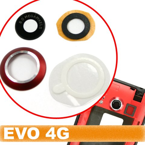 Original Genuine OEM Brand New HTC Evo 4G Camera Lens Surrounding Holder Ring Repair Replace Replacement