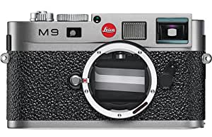 Leica M9 18MP Digital Range Finder Camera (Steel Gray, Body Only)