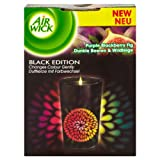Air Wick Black Edition Colours of Nature Purple Blackberry Fig Colour Changing Candle 155 gm (Pack of 3)