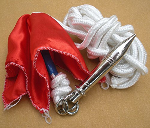 Rope Dart/Sheng biao/Stainless steel Material/China wushu/Two styles to choose (circular, 1)