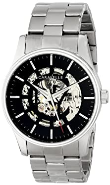 buy Caravelle New York Men'S 43A124 Stainless Steel Automatic Watch