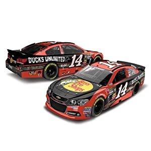 Tony Stewart 2013 Ducks Unlimited 1:24 Color Chrome Nascar Diecast by Action Racing Collectables