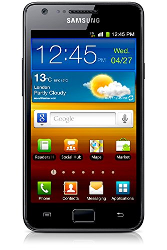 Samsung Galaxy S II GT-I9100 Unlocked Phone with 8MP Camera and Touchscreen – International Version (Black) Reviews