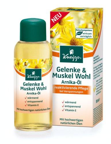 Kneipp 2354 Gelenke und Muskel Wohl Arnika-Öl - 100 ml