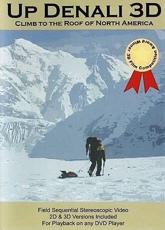 Up Denali 3D DVD - Alaska in field sequential 3D