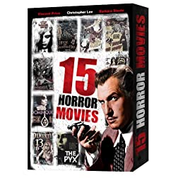 15 Classic Horror Movies (Gift Box)