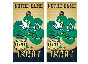 Buy NCAA Notre Dame Fighting Irish Cornhole Shield by Wild Sports