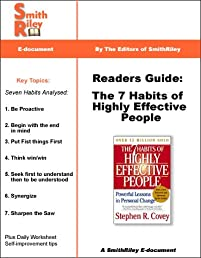 Readers Guide: The 7 Habits of Highly Effective People