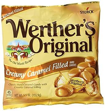 Werther's Caramel Apple Filled Candy, Original, 9 Ounce