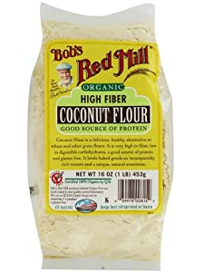 One 16 oz Bob's Red Mill Organic Coconut Flour from Bobs Red Mill