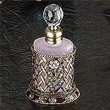 StealStreet SS-A-51676 4-Inch Perfume Bottle Jewlry, Flower Pink