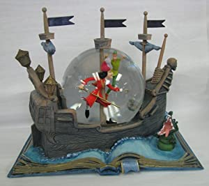 Hallmark Disney Collection CLX2003 Peter Pan Water Globe by Hallmark