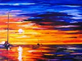 """Original on Canvas giclee by Leonid Afremov - """"FAR AND AWAY"""" Hand Signed Painting"""