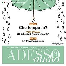 ADESSO audio - Che tempo fa? 4/2016: Italienisch lernen Audio - Wie wird das Wetter? Hörbuch von  div. Gesprochen von:  div.