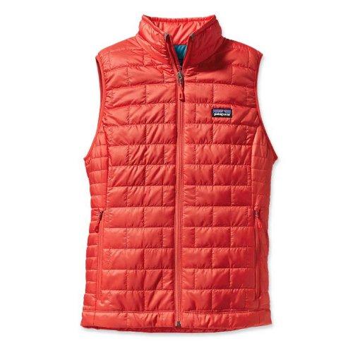 Giacca da montagna Patagonia NANO PUFF-Piumino senza maniche, da donna rosso Large