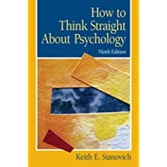 How To Think Straight About Psychology (9th Edition) [Paperback]