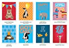 Apartment 2 Cards Assorted Birthday Card, 8 Different Cards Per Pack