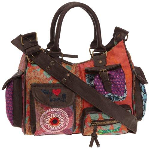 Desigual Women Bols_Patch Rojo Cross-Body Bags