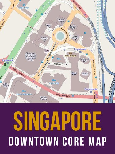 Singapore Downtown Core Street Map