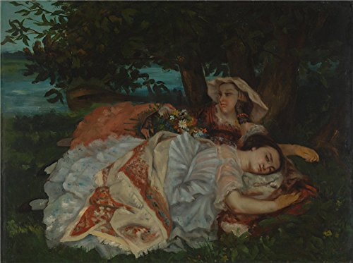 high-quality-polyster-canvas-the-amazing-art-decorative-prints-on-canvas-of-oil-painting-gustave-cou