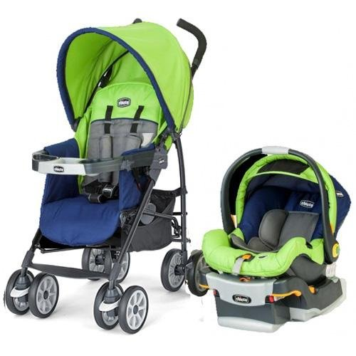 Chicco Neuvo Compact Travel System, Tropic