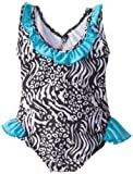 Pink Platinum Girls 2-6X Animal Print One Piece Swimsuit