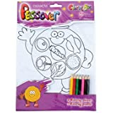 Colouring Sheets for Passover -Images to Colour All About Pesach Including Colored Pencils