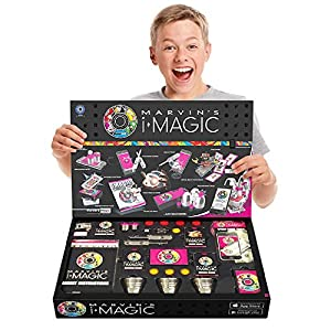 """NEW!!! """"The Future of Magic"""" Deluxe 365 Box of Innovative Magic Set with Unique Marvin's iMagic App for Smart Devices"""