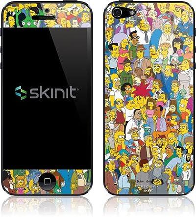 【保護シール】シンプソンズ iPhone 5 アイフォン 5 Simpsons Protective Skin