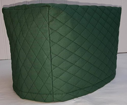 Quilted 2 or 4 Slice Toaster Cover (4 Slice, Hunter Green) (4 Slice Green Toaster compare prices)