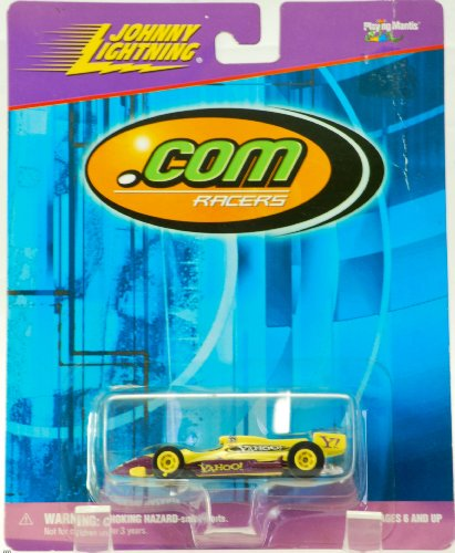 1999-playing-mantis-johnny-lightning-com-racers-99-yahoo-indy-car-1-of-6-racers-out-of-production-ve