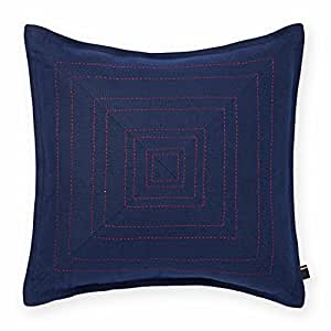 Tommy Hilfiger Decorative Bed Pillows : Amazon.com: Tommy Hilfiger Pick Stitched Decorative Pillow, Navy: Home & Kitchen