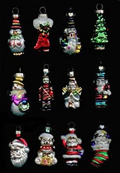 #!Cheap Avon Set of 12 Holiday Glass Ornaments