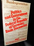 img - for Politics and Government in the Federal Republic of Germany: Basic Documents book / textbook / text book
