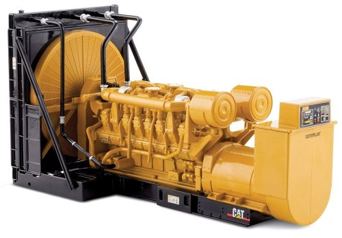 Norscot Cat 3516B Engine Generator Set 1:25 scale