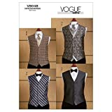 Vogue Patterns V8048 Size MUU 34-36-38-40 Men's Vest Tie and Bow Tie