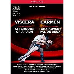 Carmen - Viscera - Afternoon of a Faun - Tchaikovsky pas de deux