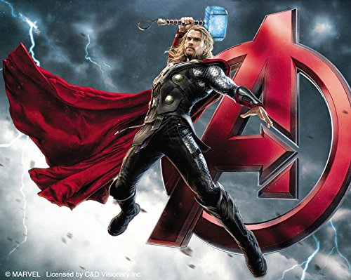 C&D Visionary The Avengers 2 Movie Age of Ultron Thor A Sticker